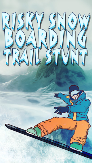 Risky Snowboarding Trail Stunt - Ultimate Downhill Extreme Mountain Party