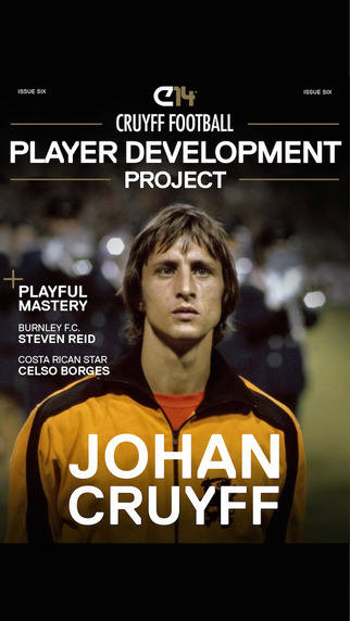 Cruyff Football Player Development Project Magazine