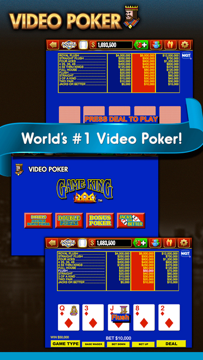DoubleDown Casino - Free Slots, Video Poker, Blackjack, and More - iPhone Mobile Analytics and App Store Data