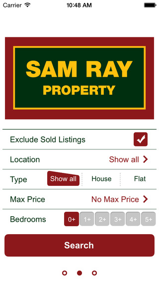 Sam Ray Property for iPhone