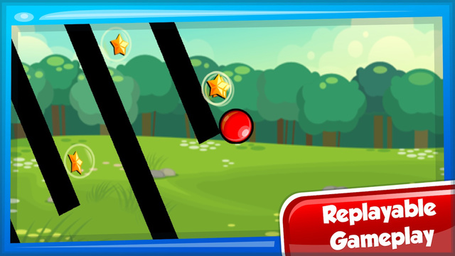 Red Bouncing Ball Spikes 4