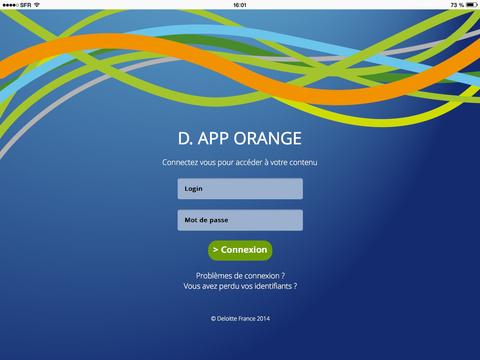 D. App Orange