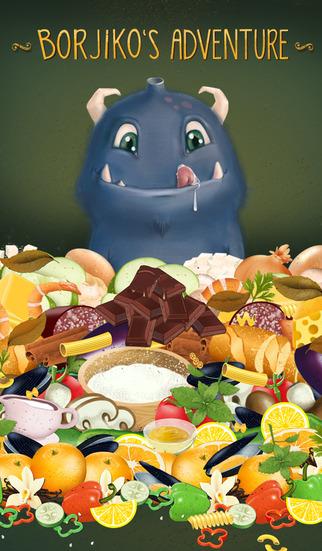 Borjiko's Adventure - Cuisine Saga