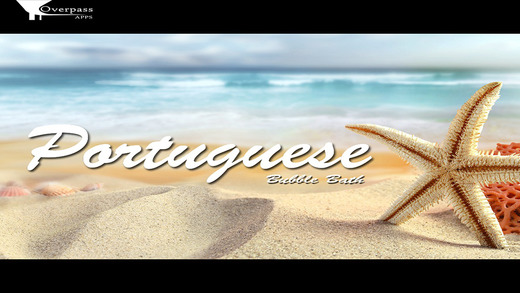 Portuguese Bubble Bath: The Language Vocabulary Learning Game Free Version