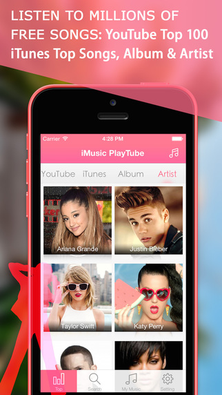iMusic PlayTube - Free Videos Music Player YouTube Edition