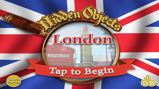 Adventure London Find Objects - Hidden Object Time Spot Difference Puzzle Games