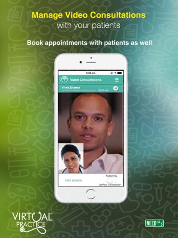 Virtual Practice for Doctors screenshot