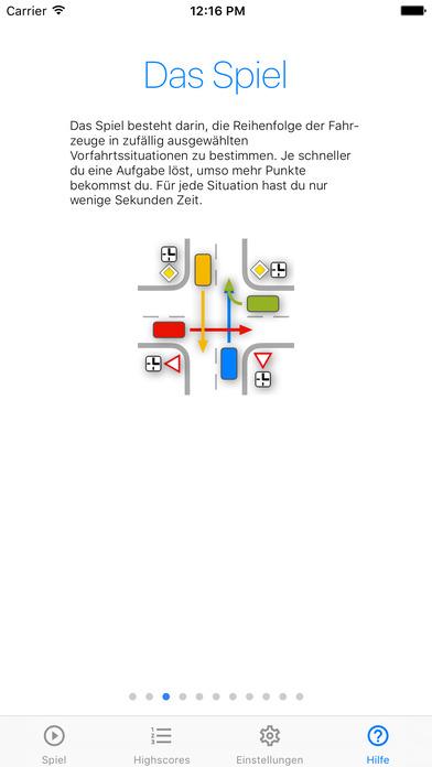 iVorfahrt iPhone Screenshot 4