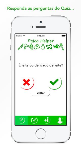 Paleo Helper