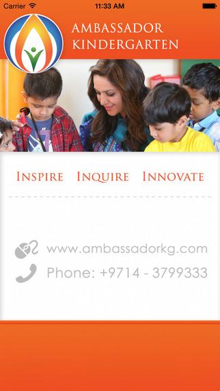 Ambassador KG - Skoolbag