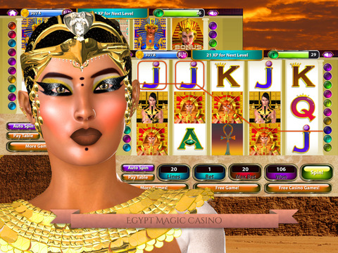 Egypt Magic Casino HD - Slot Machine Game