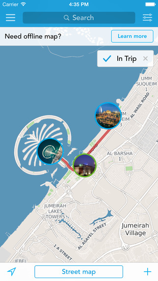 Dubai Offline Map Guide by Tripomatic