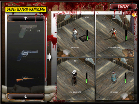 Zombie Defense iPad Screenshot 3