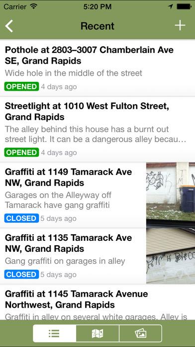 Grand Rapids 311 iPhone Screenshot 4
