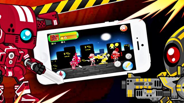 Red Robot Fighter Ranger