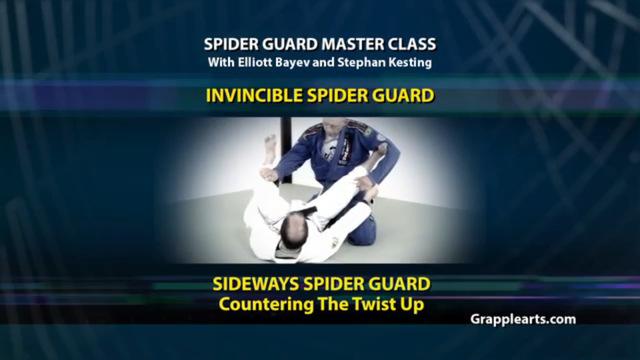 BJJ Spider Guard Volume 5 Invincible Spider Guard
