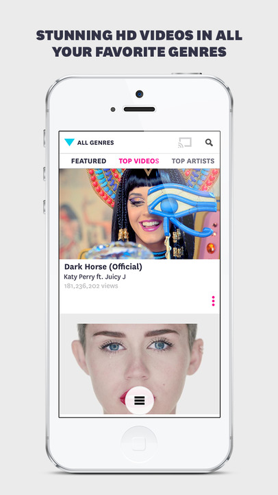 Vevo - Watch Music Videos - iPhone Mobile Analytics and App Store Data