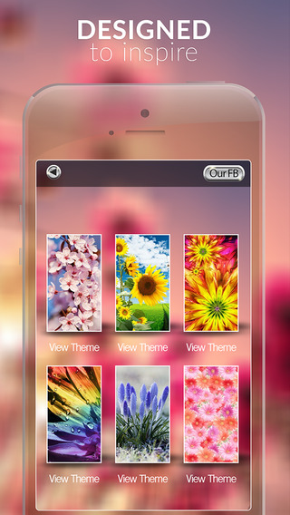 Beautiful Flower in The Garden Gallery HD - Retina Wallpaper Themes and Backgrounds for IOS 8 Free