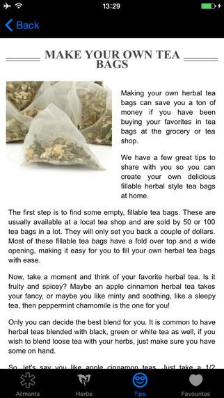 Medical Herbal Teas