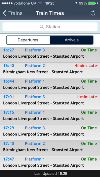 Stansted iPhone Screenshot 4