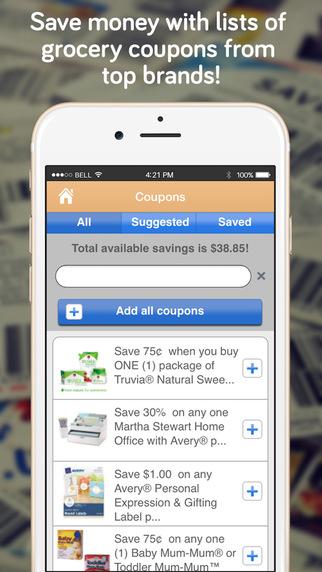 shopper lite shopping list for walmart costco home depot shopping app app. Black Bedroom Furniture Sets. Home Design Ideas