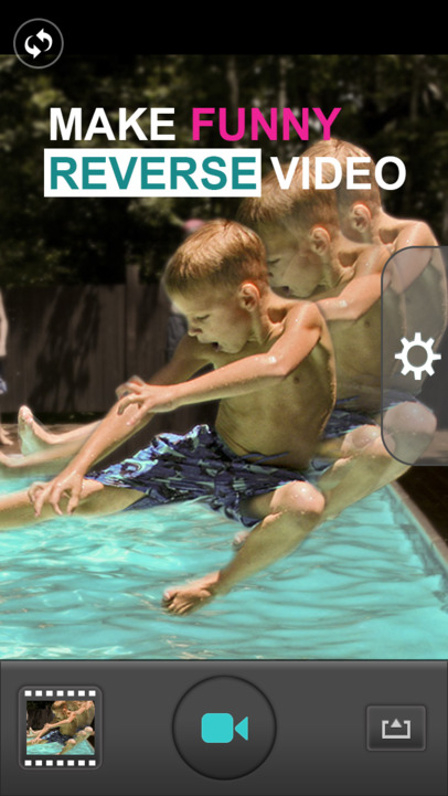 Backwards Cam - Reverse Movie Maker - iPhone Mobile Analytics and App Store Data