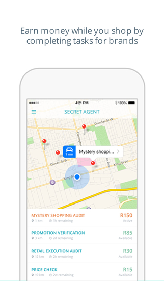 Secret Agent App