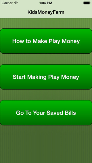 Picture Perfect Play Money Creator