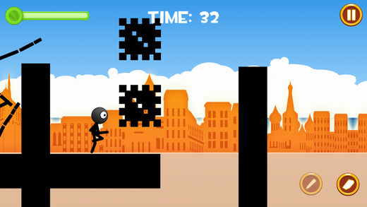 Stickman Pencil Rope PRO
