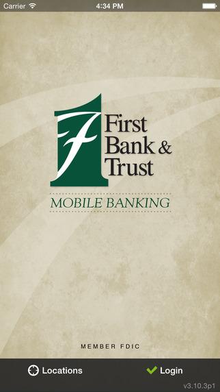 【免費財經App】First Bank & Trust Mobile Banking App-APP點子