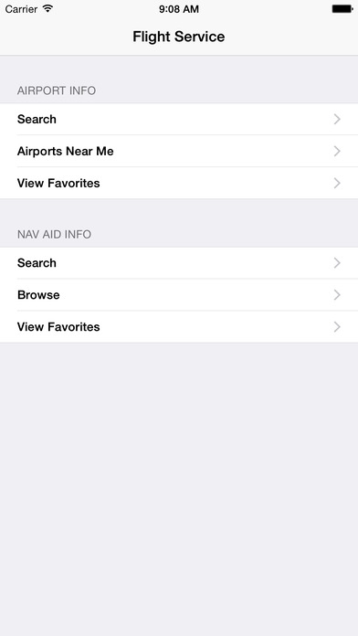 FlightService iPhone Screenshot 1