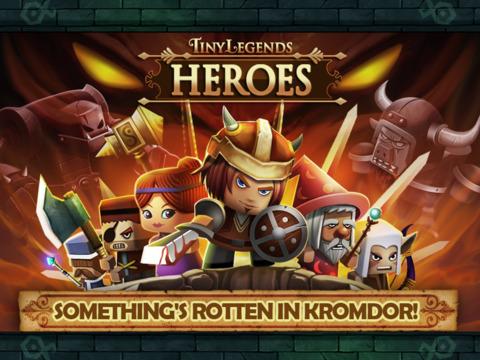Крошечные Легенды: герои на iPad