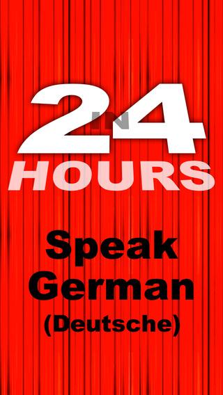 In 24 Hours Learn to Speak German Deutsch