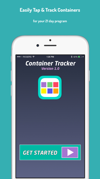 Container Tracker - Track Your 21 Day Fitness Program