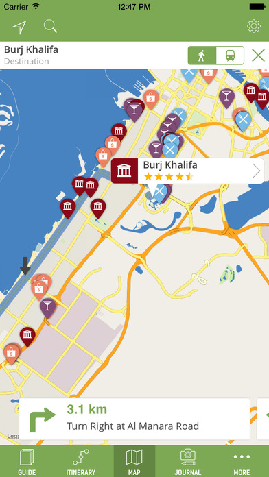 Dubai Travel Guide - mTrip iPhone Screenshot 3