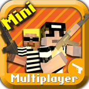 Cops N Robbers (FPS) – Mine Mini Game With Survival Multiplayer [iOS]