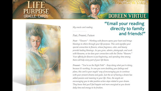Life Purpose Oracle Cards - Doreen Virtue, Ph.D.