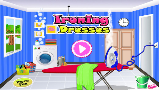 Ironing Clothes for kids