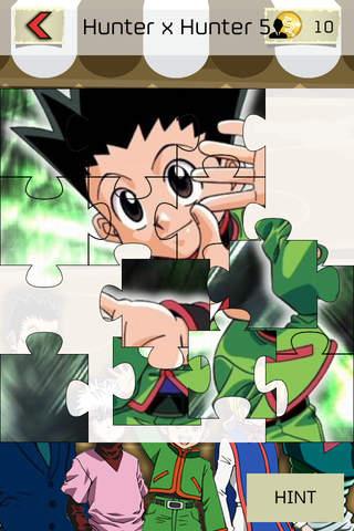 "Jigsaw Manga & Anime Hd  - "" Japanese Puzzle Cartoon Collection For Hunter x Hunter Edition "" screenshot 2"
