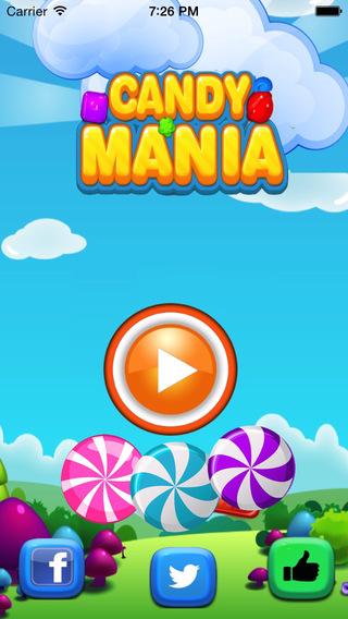 Candy Mania - Addictive puzzle swap match Candie craze free edition