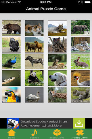 Zoo Funsy for little children screenshot 2