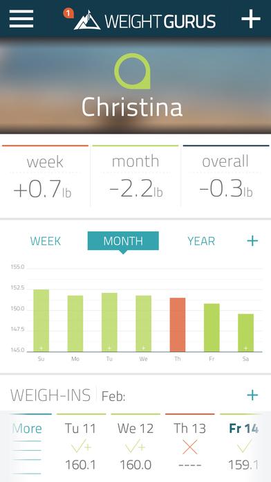 Weight GURUS screenshot