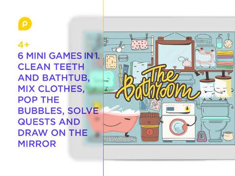 Mini-U: The Bathroom. 6 funny educational mini-games