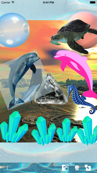 Tropix – Seapunk Stickers