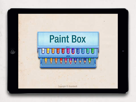 Paint Box for iPad