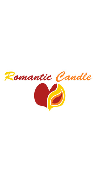 Romantic Candle Valentine's Day - Wallpaper and Tea Light with Emotional Piano Music for Lovers