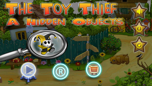 Hidden Objects : The Toy Thief