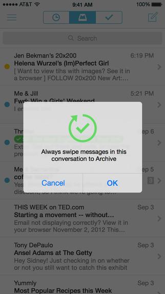 Mailbox Screenshot
