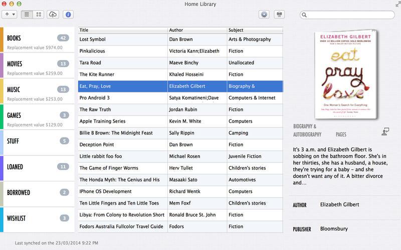 Home Library OS Screenshot - 1