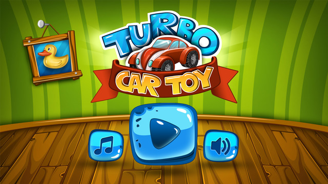 Turbo Toy Car: Playroom Racing Simulator